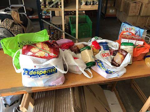 CEIP Monte de el Pardo dona alimentos a AAQUA en campaña de verano 2017
