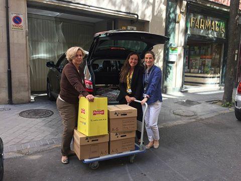 Donación de JP MORGAN a AAQUA en campaña de verano 2017