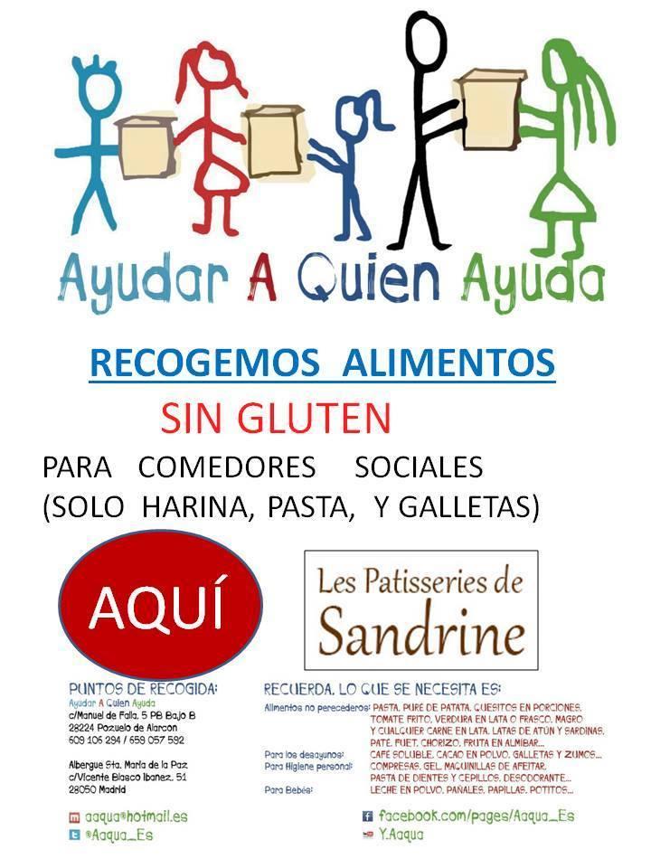 Le Patisseries de Sandrine colabora con AAQUA