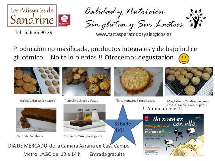 Le Patisseries de Sandrine en el Día del Mercado