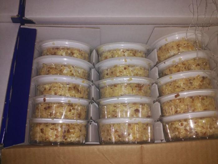 Donación de quesos Arla