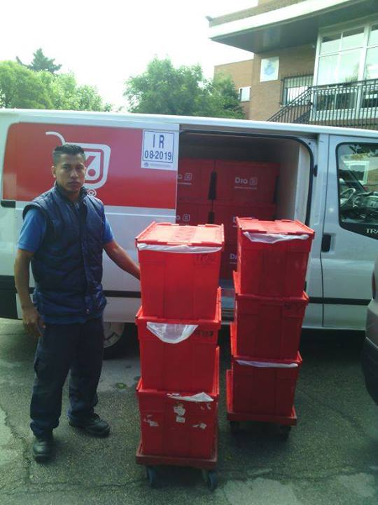 donación de alImentos para Aaqua