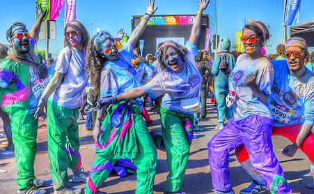 HOLI RUN MADRID 2015