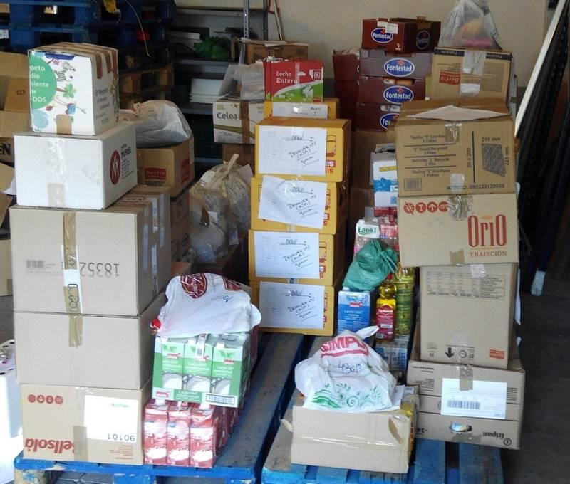 JP MORGAN dona alimentos a AAQUA