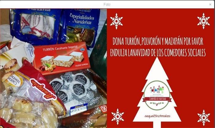 Dona productos navideños a AAQUA