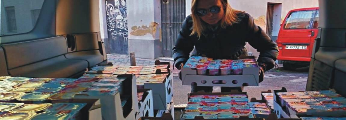 Recogida y distribución de alimentos