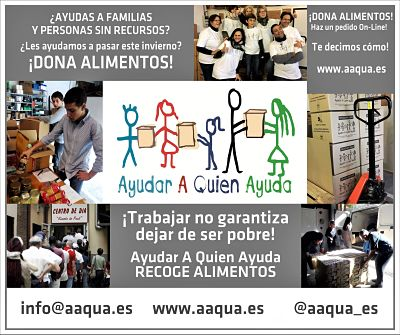 Cartel de Aaqua para la Campaña de Metro de Madrid
