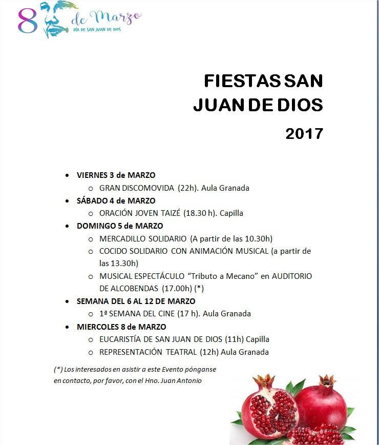 Fiestas de San Juan de Dios