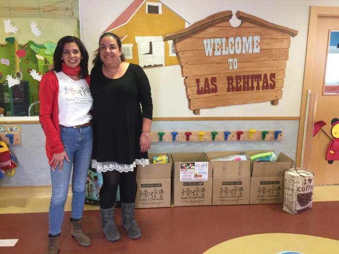 La Escuela Infantil Las Rehitas colabora con AAQUA