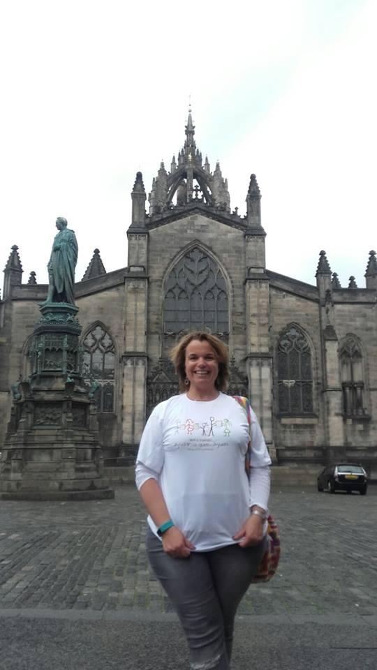 Aaqualeros por el mndo en Edimburgo
