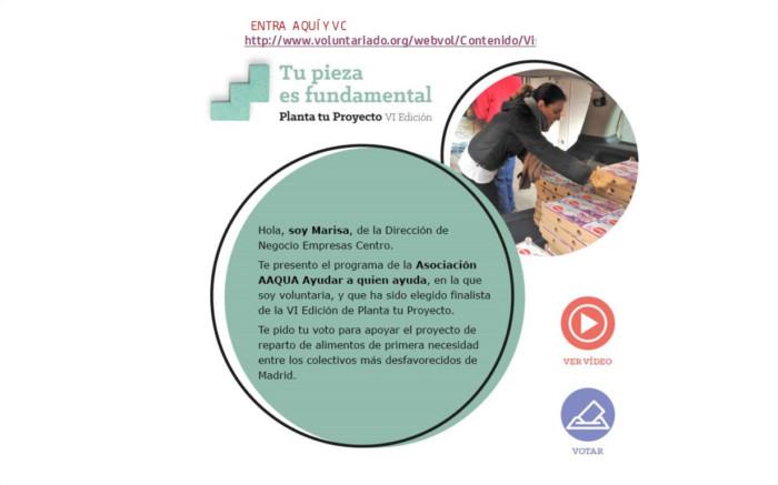"BANKIA colabora con AAQUA con ""Planta tu Proyecto"""